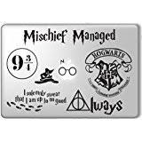 hogwarts alumni decal hogwarts alumni 2 harry potter apple macbook laptop