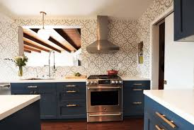 kitchen tray ceiling with under cabinet hood also glass