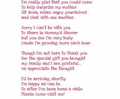 baby shower poems sweet poem for your baby shower guests ramos babies