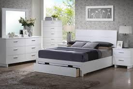 Modern White Queen Bed Queen Bookcase Headboard White Roselawnlutheran