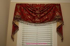 m u0027fay u0027s empire swag by fabric creations curtains swags