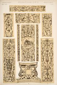decorative arts the grammar of ornament renaissance ornament