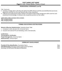 director technology resume sample u0026 template