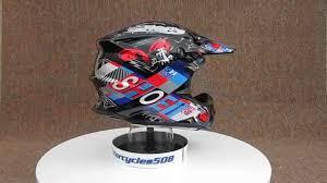 shoei motocross helmets shoei vfx w krack tc2 motocross helmet youtube