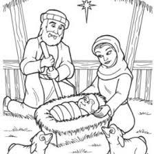 baby jesus manger coloring free printable coloring