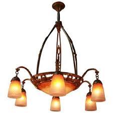 Art Nouveau Lighting Chandelier Chandeliers U2014 Artisan Lamp