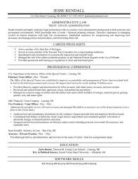 Example Secretary Resume Attorney Resume Samples Template Resume Builder