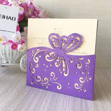 butterfly invitations buy purple butterfly invitations and get free shipping on