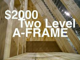 free a frame house plans attractive free a frame house plans 7 farm animals frame luxamcc