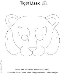 fox mask template animal masks for kids printable animal masks