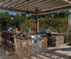Rustic Outdoor Kitchen Ideas Rustic Outdoor Kitchen Designs Mapo House And Cafeteria Intended