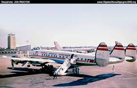 Lockheed Constellation Interior Olgiate Olona June 26 1959 Lockheed L 1649 Starliner