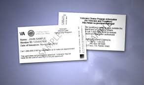 choice card confusion frustrates veterans congress
