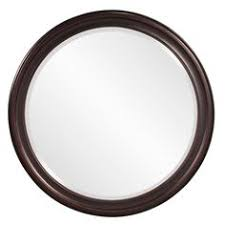 Oil Rubbed Bronze Bathroom Mirror by Our Lovely Round Wooden Mirror Is Hand Painted In A Champagne
