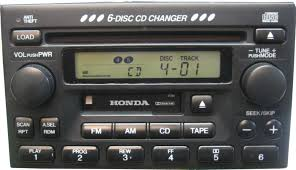 honda accord car stereo cd changer repair and or add an aux input