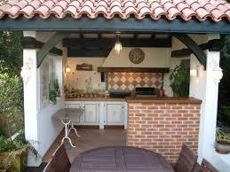 cuisine d été couverte cuisine d été extérieure couverte agenceamarte