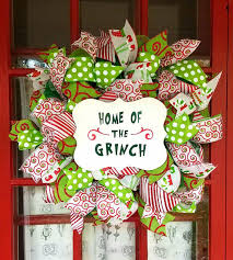 the grinch christmas decorations grinch inspired home of the grinch christmas wreath grinch