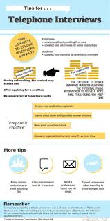 Job Interview Resume Questions by Tips For Phone Interviews Infographic By Unc Chapel Hill Ucs