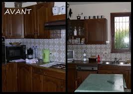transformation cuisine transformation de la cuisine peinture des meubles chez la