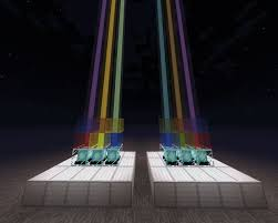 How To Make Light In Minecraft Color Beacons In Minecraft 6 Steps
