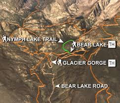 Colorado Lakes Map by Lake Hikes In Rocky Mountain National Park