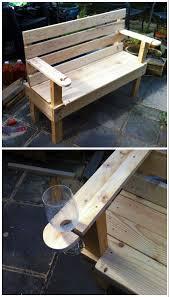 garden bench for 10 u0026 9 hours of work u2022 1001 pallets