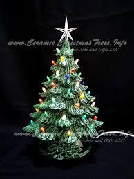 ceramic christmas trees ceramic christmas tree vintage 16 inches ceramic christmas tree