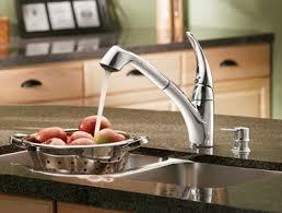 moen one handle pullout kitchen faucet moen extensa faucets parts at faucet depot