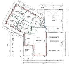 plan de maison 4 chambres plain pied maison 4 chambres 130m2 con plan maison plain pied 4 chambres e
