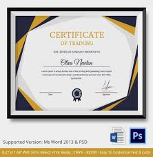 training certificate template word amitdhull co