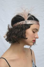 gatsby headband gold headband gold great gatsby headband blush