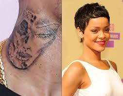 chris brown tattoo rihanna freddyo com