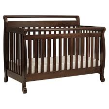amazon com davinci emily 4 in 1 convertible crib in espresso