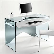 design computertisch glas computer tisch modernes design schicke material bürowelten