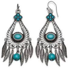 Turquoise Chandelier Earrings Polyvore Turquoise Chandelier Earrings Stone Jewellery Semi Precious