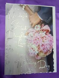 best wishes for wedding card daiughter in on your wedding day wedding cards jonny