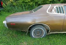 Muscle Car Barn Finds 1974 Dodge Charger Se Brougham 318 Ratrod Project Barn Find Muscle