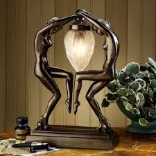 Sculpture Table Lamps 241 Best Lights Images On Pinterest Stained Glass Table Lamps