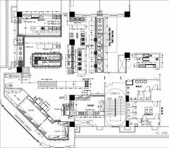 Kitchen Floor Plans With Island Restaurant Kitchen Floor Plan Caruba Info