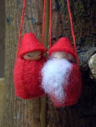 fashioned santa ornament tutorial
