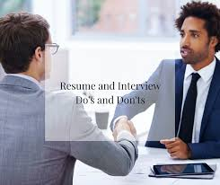 How Do You Spell Job Resume by Resume And Interview Do U0027s And Don U0027ts University Of The Cumberlands