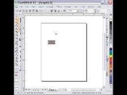 corel draw invert text and background youtube