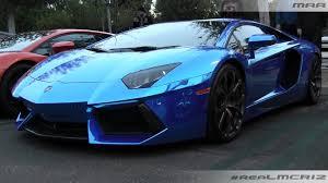 chrome blue lamborghini aventador chrome blue lamborghini aventador lp 700 4