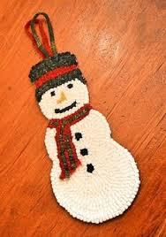 Snowman Rug Locker Hooked Snowman Rug Craft Ideas Pinterest Locker