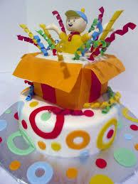 caillou birthday cake caillou birthday cake pink teaspoon