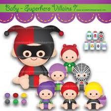 superhero baby villain 4 2 pdf png instant download