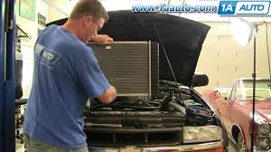 how to install replace radiator chevy s10 similar to most cars and