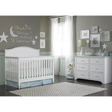 Convertable Crib by Fisher Price Delmar 4 In 1 Convertible Crib White Walmart Com