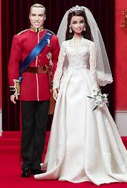 mariage kate et william des barbies kate middleton et prince william dolls