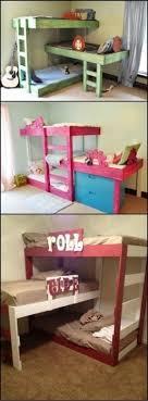 Triple Bunk Beds For Kids Foter - Triple bunk bed plans kids